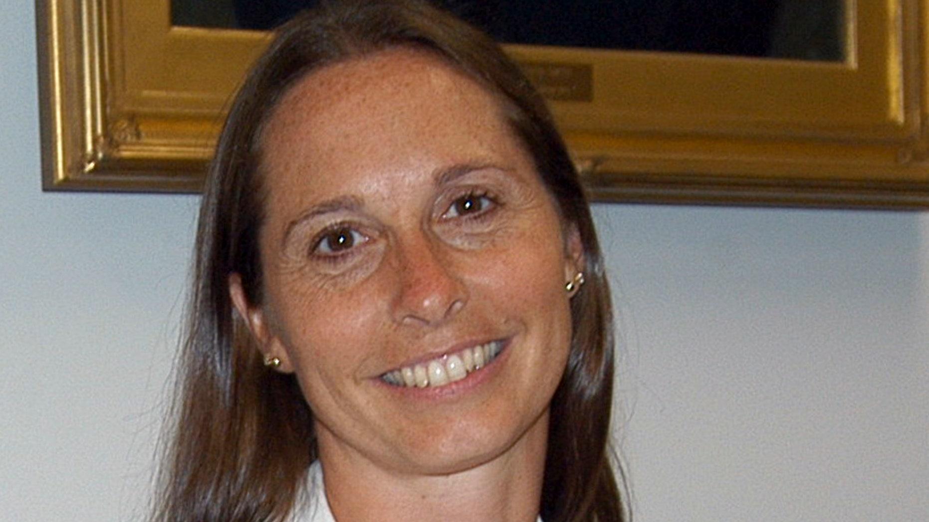 July 2010: File photo of Dawn Lafferty Hochsprung, principal at Sandy Hook Elementary School, in Newtown, Conn.