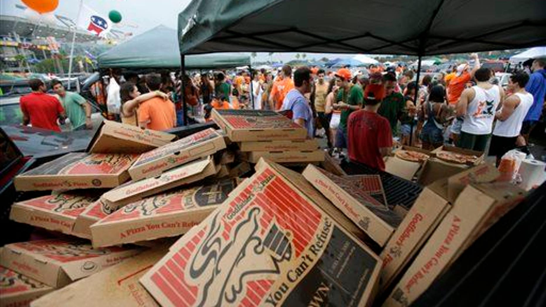 PFAS help pizza boxes avoid getting soaked by grease.