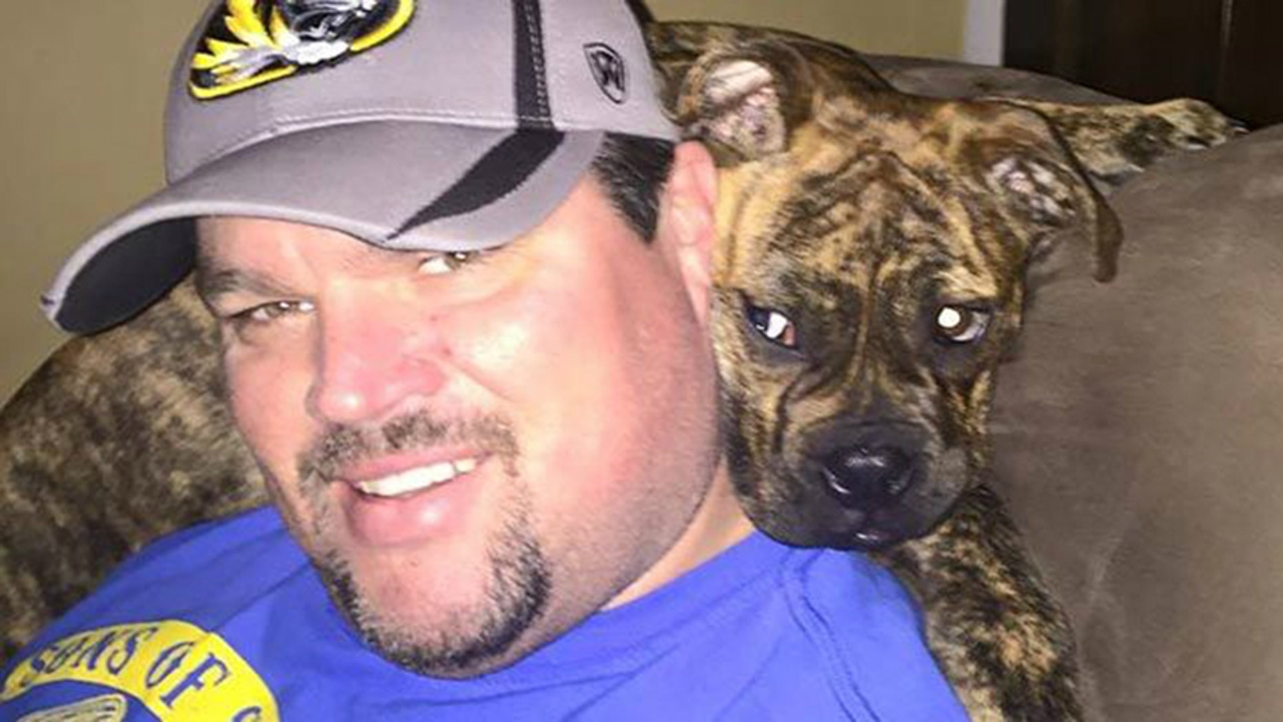 Police in Missouri said Sean Beary, 43, was fatally shot Wednesday at a sports bar after getting into an argument with someone over the size of a German Shepherd dog.