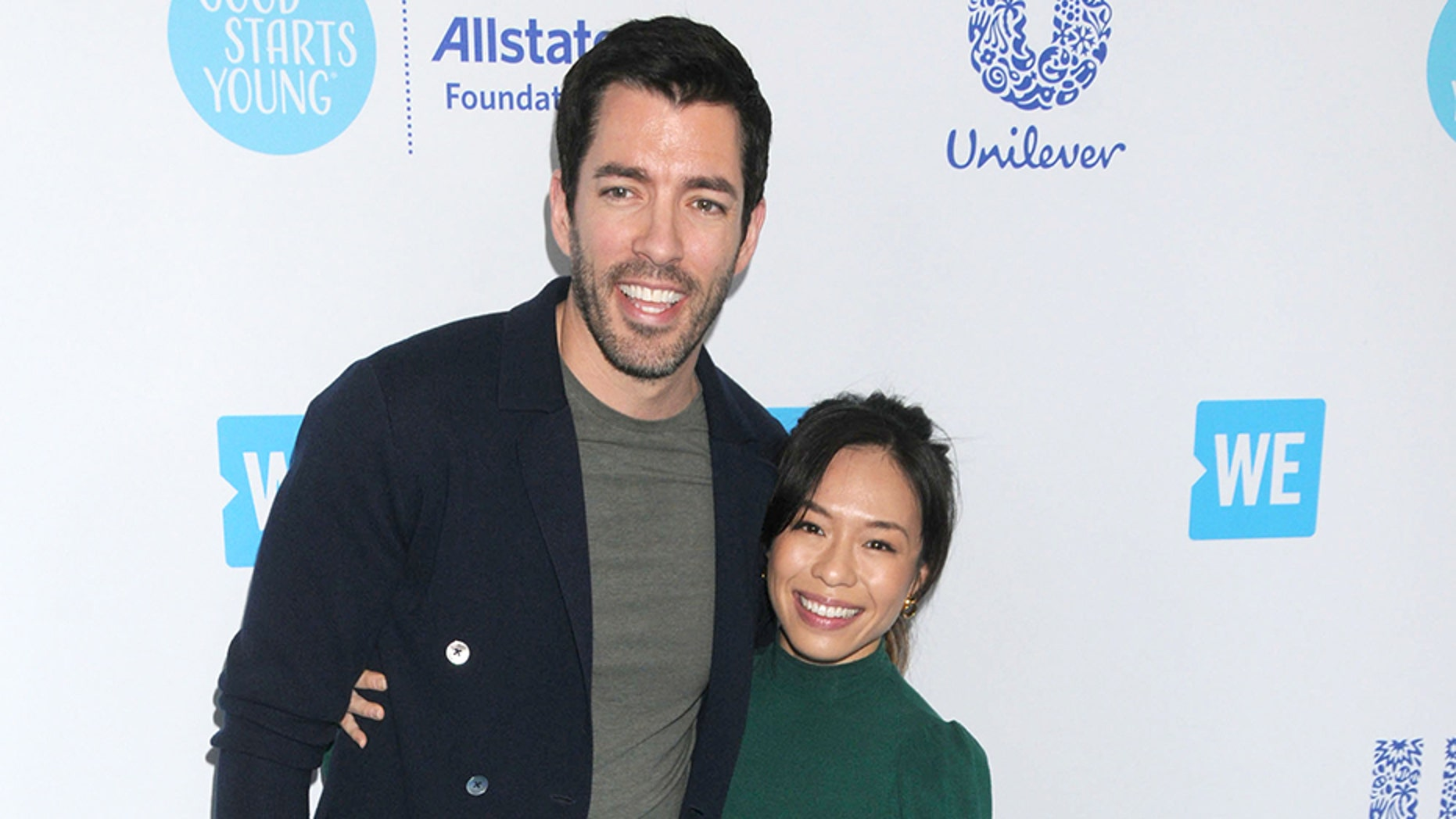 """""""Property Brothers"""" star Drew Scott married his longtime girlfriend Linda Phan in Italy on Saturday, May 12, 2018."""