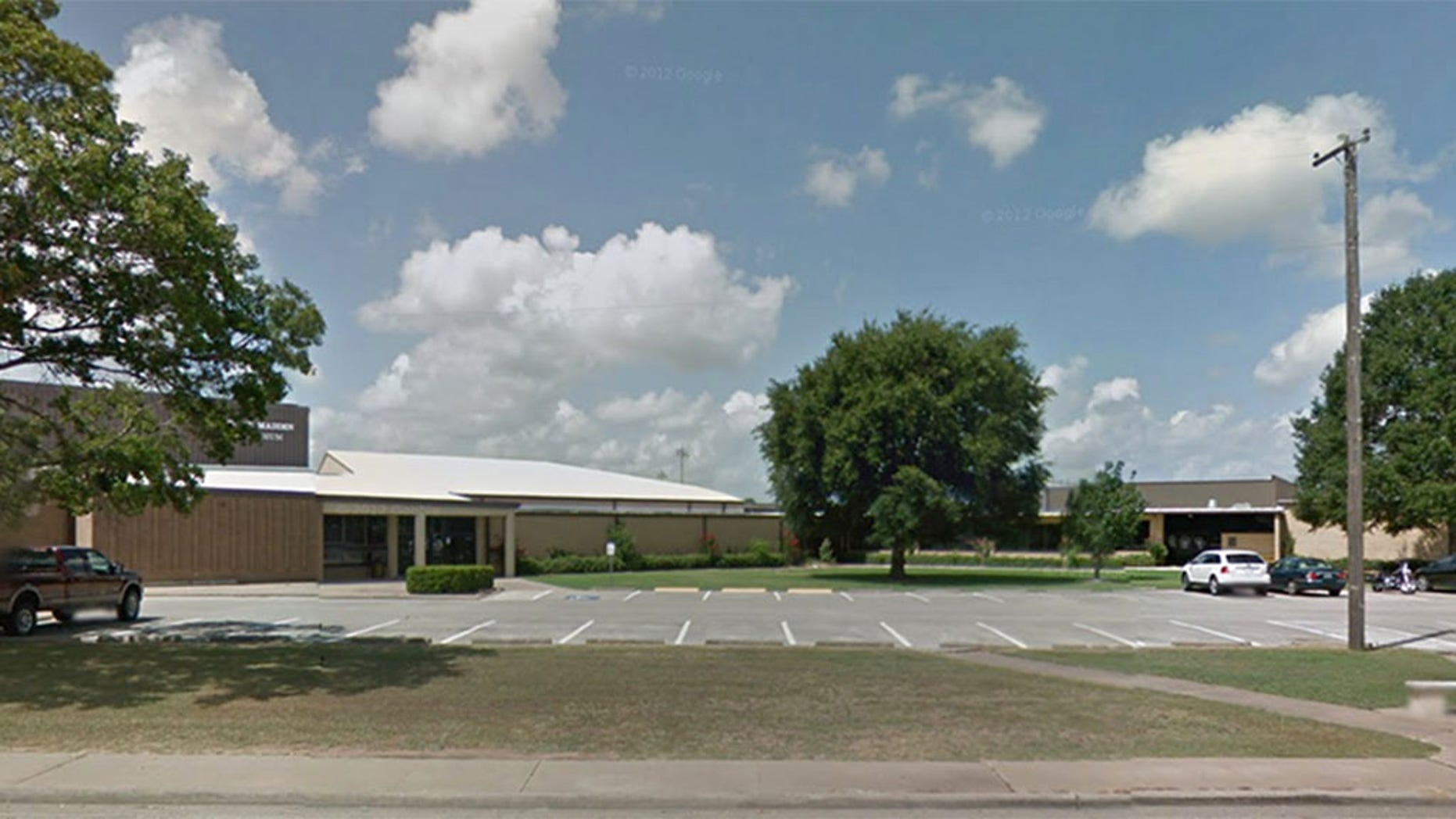 Sealy Junior High School in Sealy, Texas.
