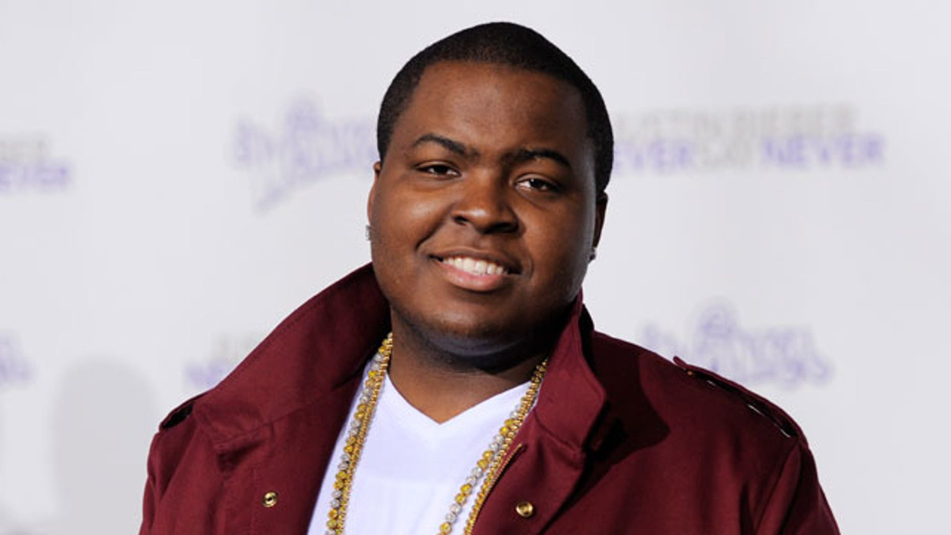 "Sean Kingston arrives at the premiere of the documentary film ""Justin Bieber: Never Say Never,"" in Los Angeles. Kingston has been rushed to a hospital Sunday May 29, 2011, after crashing his personal watercraft into a Miami Beach bridge."