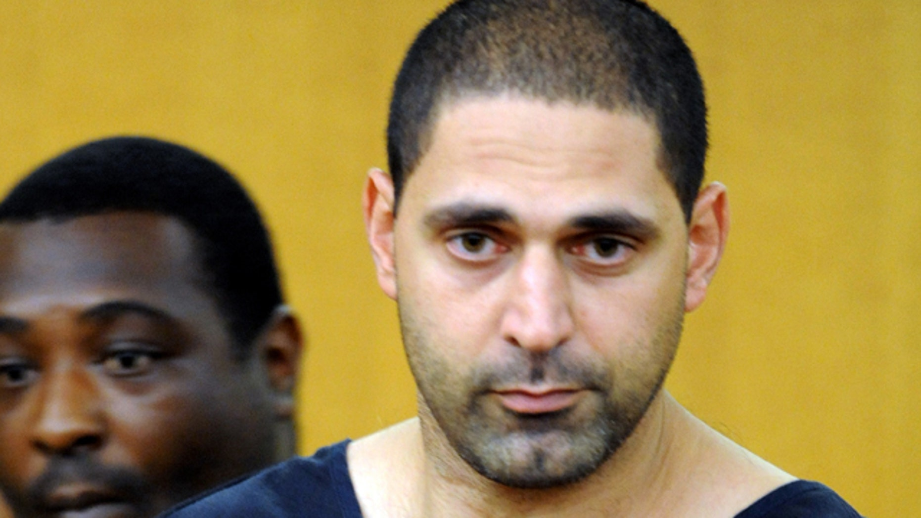 Aug. 13, 2010: In this file photo Elias Abuelazam, attends an extradition hearing in Fulton County Superior Court  in Atlanta.