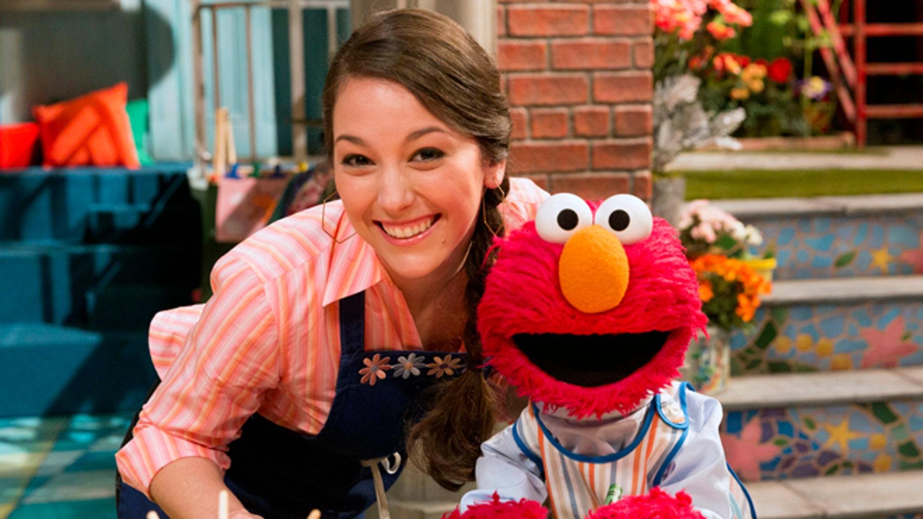 Suki Lopez as 'Nina' on Sesame Street.