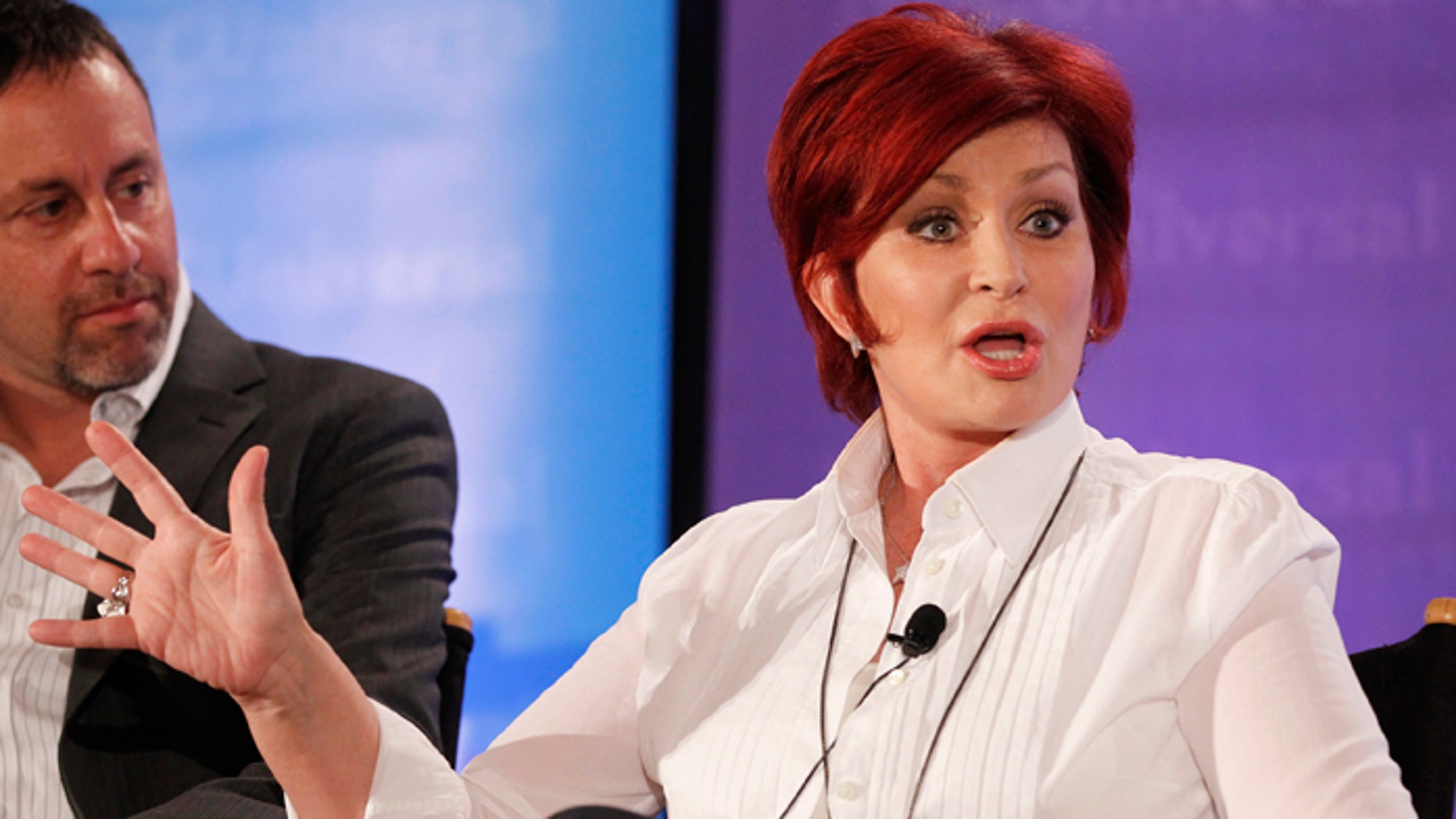 """Sharon Osbourne, one of the judges on """"America's Got Talent,"""" had surgery for colon cancer in 2002."""