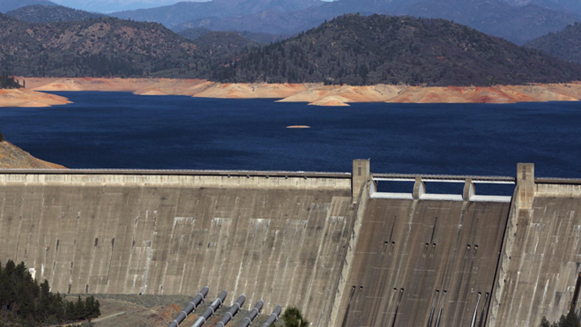This Jan. 23, 2014 file photo shows Shasta Dam in Shasta, Calif.