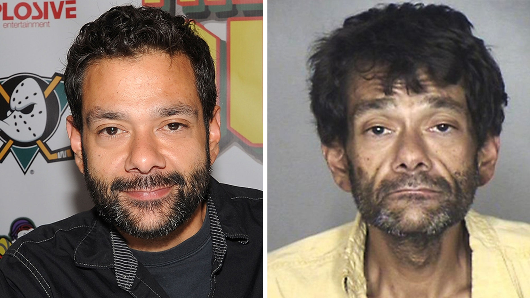 """Mighty Ducks"" star Shaun Weiss, seen left in a 2015 photo, was arrested for public shoplifting."