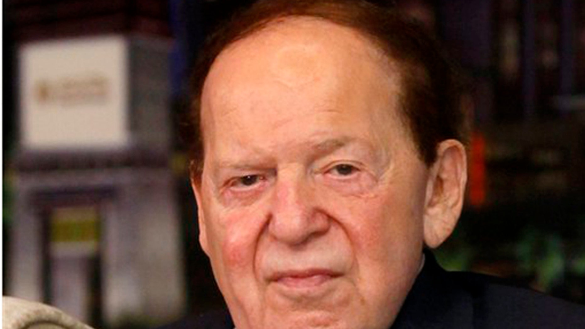 FILE: April 12, 2012: Sheldon Adelson, Las Vegas Sands CEO and financial backer for GOP candidates.