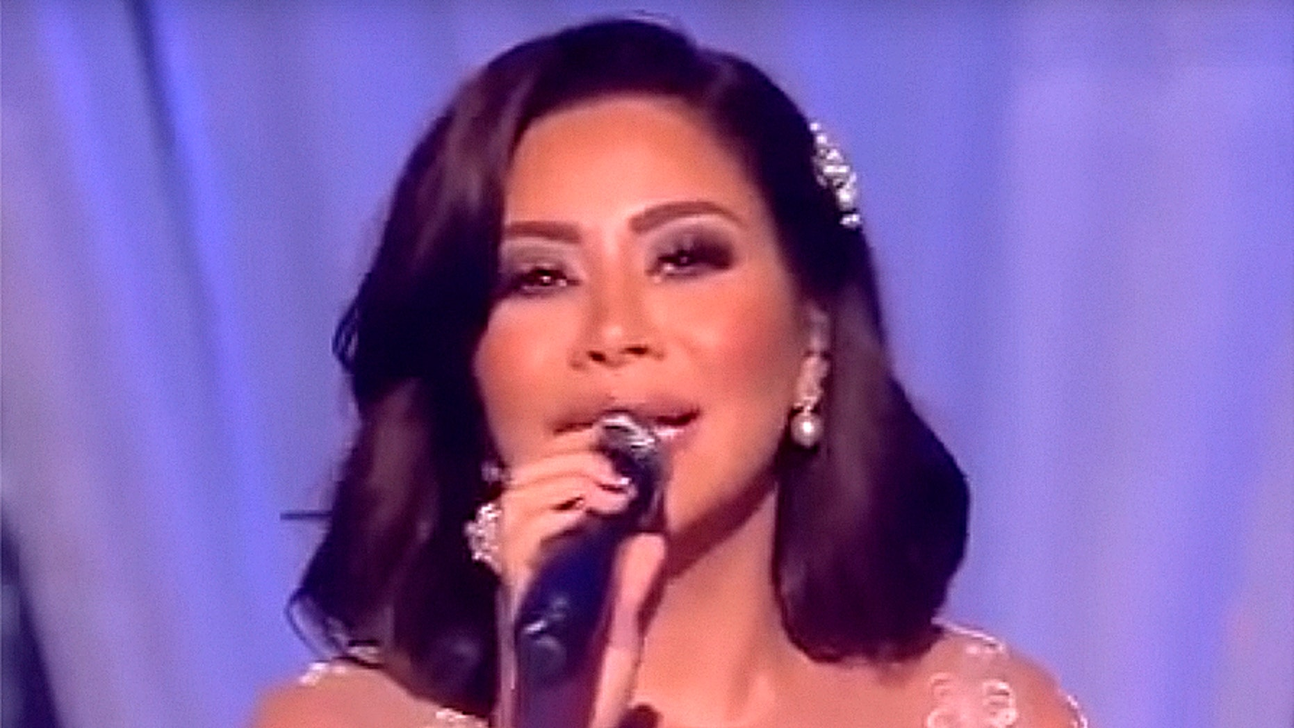 Egyptian singer and 'The Voice' star Sherine Abdel-Wahab
