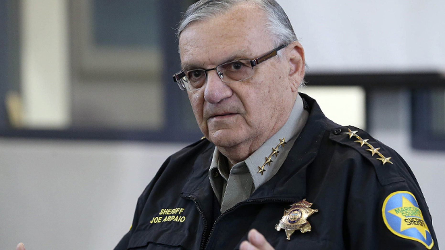 An aide to Maricopa County Sheriff Joe Arpaio, pictured, who was sued as part of the challenge to the law, said he believes the sheriff's office will ask the 9th Circuit to reconsider its opinion and, if that doesn't succeed, will petition the Supreme Court to take the case.