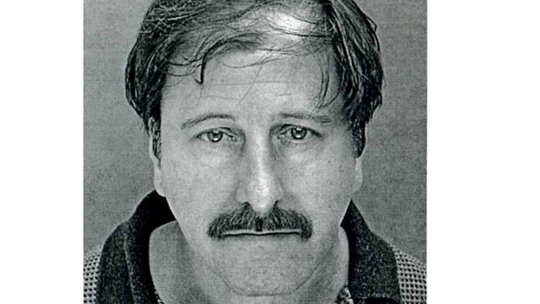 2001: In this photo provided by the Franconia Township Police Department in Telford, Pa, Salvatore Perrone is shown.