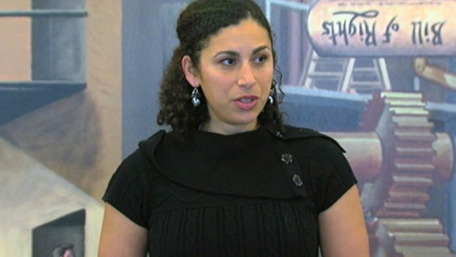 Shoshana Hebshi says she was ordered to remove her clothes, bend over and cough while she was searched.