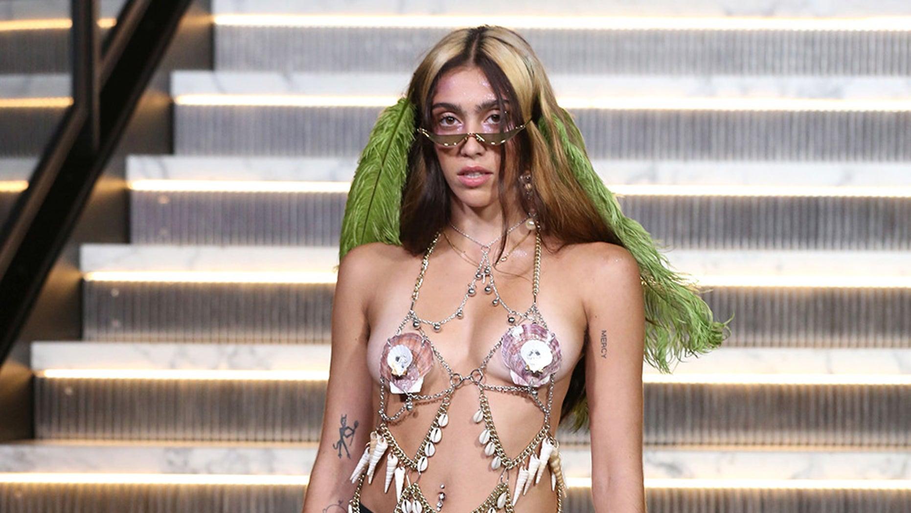 Madonna's daughter Lourdes Leon made heads turn during New York Fashion Week