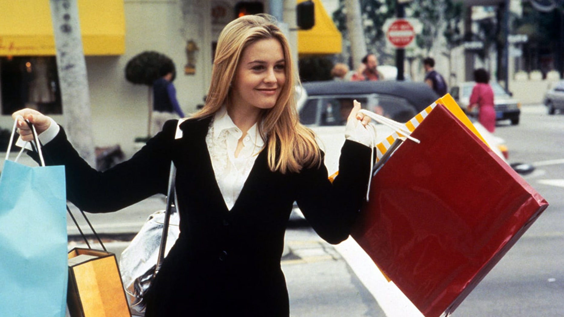 """Alicia Silverstone as Cher Horowitz in the 1995 movie """"Clueless."""""""