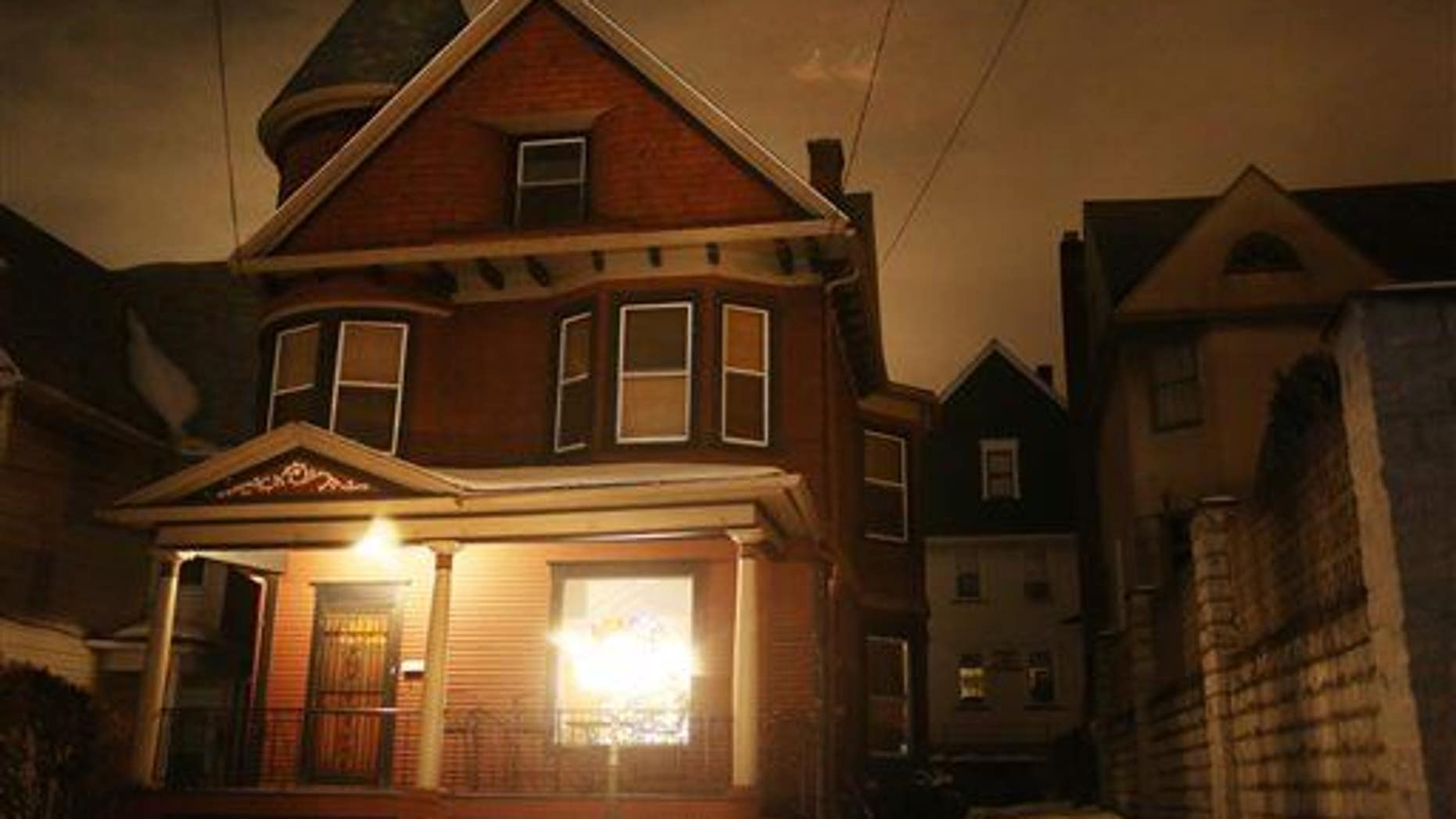"This 113-year-old Victorian home was advertised as ���slightly haunted"" by the owners when it was put up for sale."
