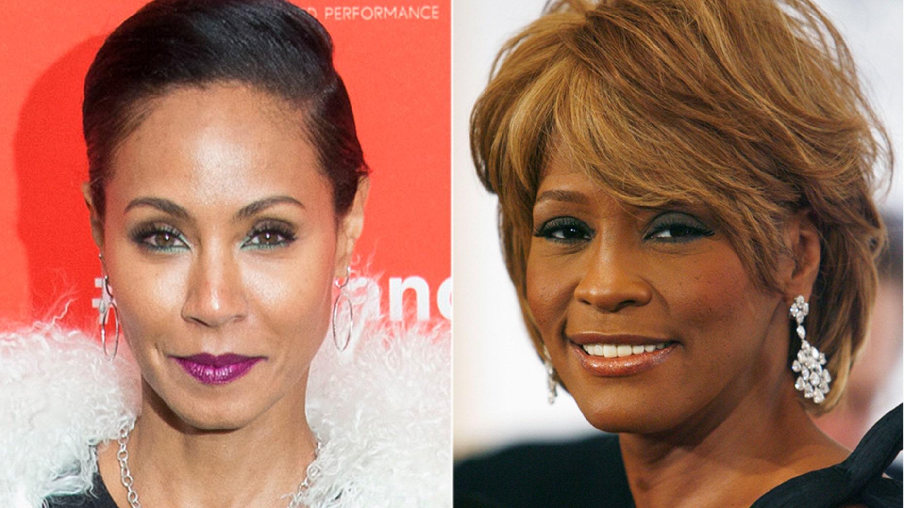 Jada Pinkett Smith shared rare photos of the late Whitney Houston on Instagram July 4, 2018.