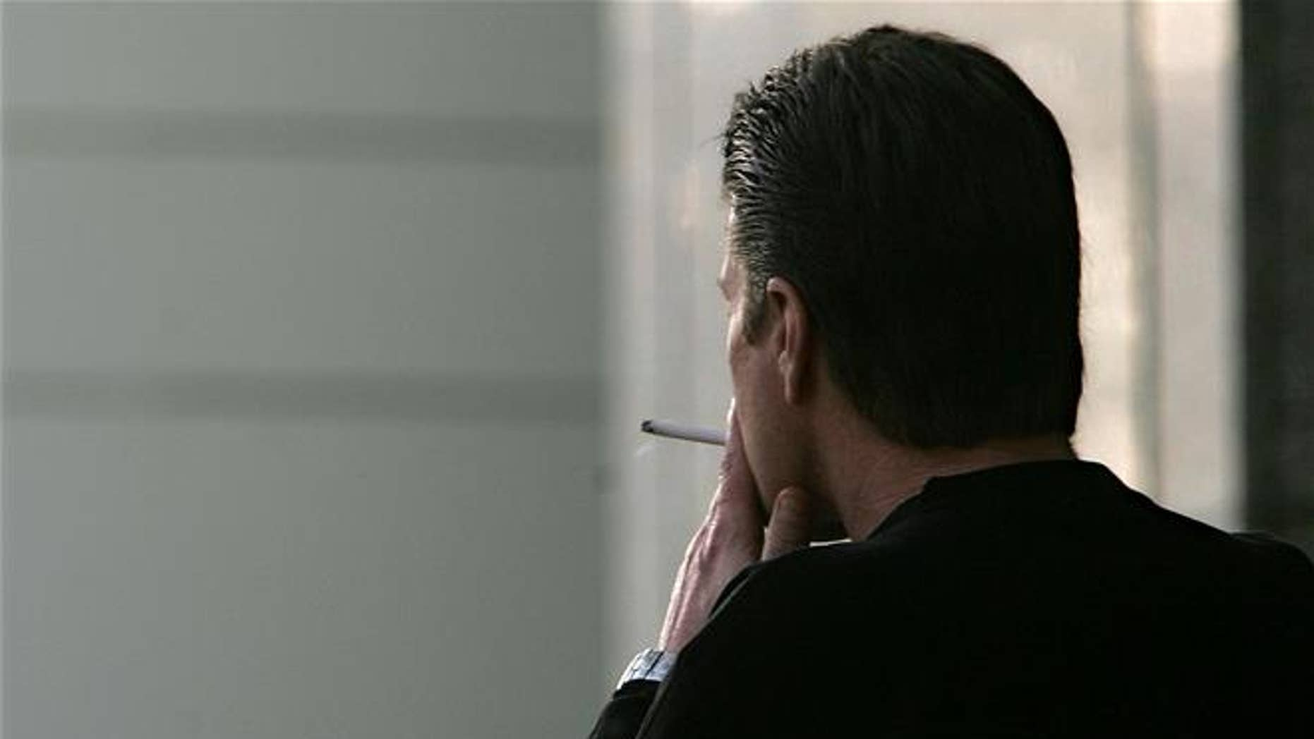 Smoking may take a toll on the quality of a man's sperm.