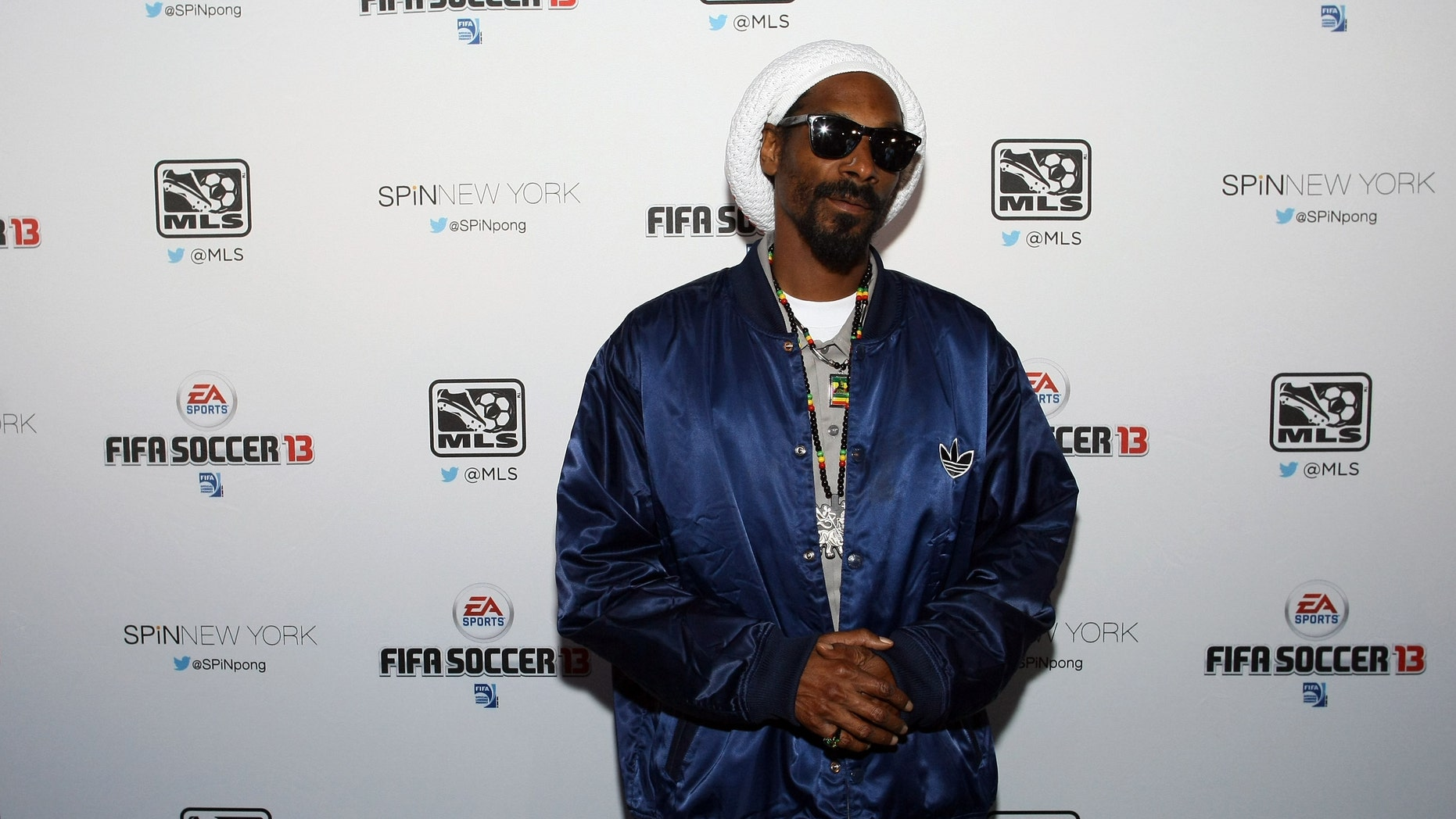 Snoop Lion attends the FIFA Soccer 13 launch tournament at SPiN New York on September 24, 2012 in New York City.  (Photo by Neilson Barnard/Getty Images)