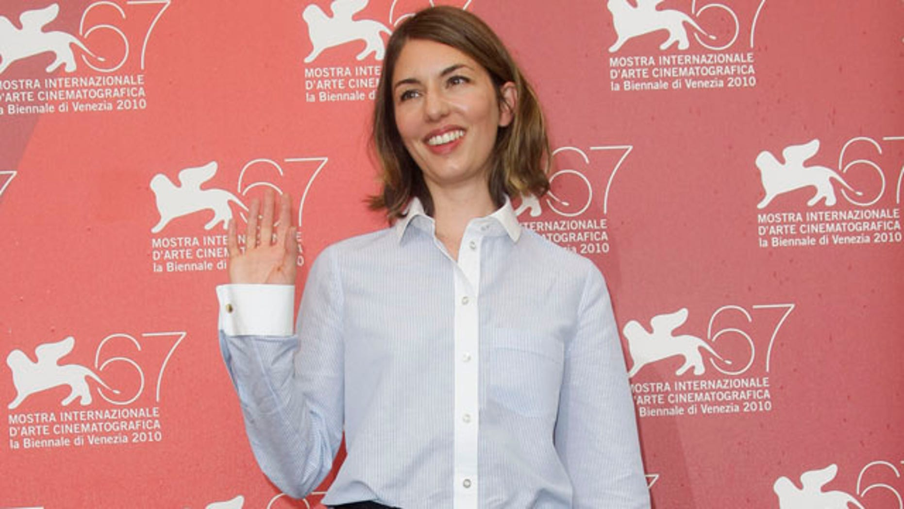 "Sept. 3: Director Sofia Coppola poses during a photo call for the movie ""Somewhere"" at the 67th edition of the Venice Film Festival in Venice, Italy."
