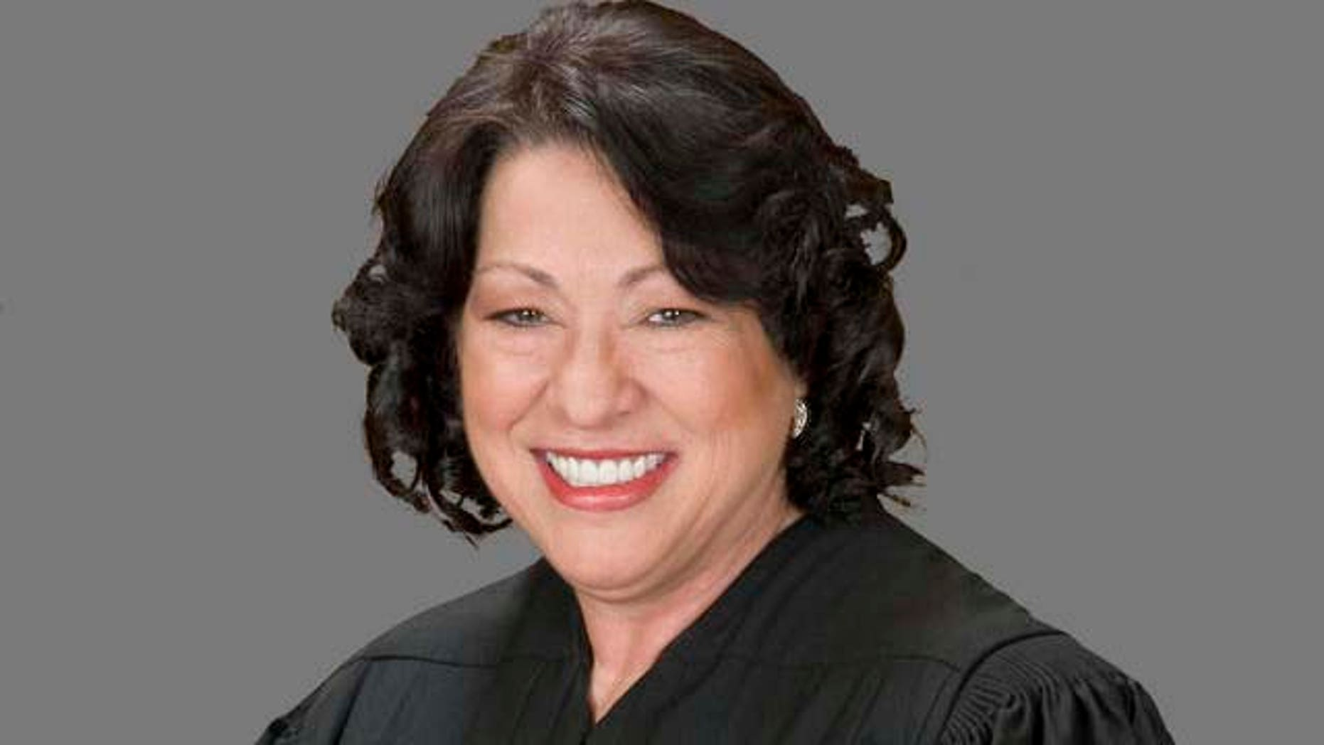 This undated image released by the Supreme Court of the United States on Tuesday, Sept. 8, 2009 shows Justice Sonia Sotomayor is seen in her official portrait. (AP Photo/Collection of the Supreme Court of the United States, Steve Petteway)