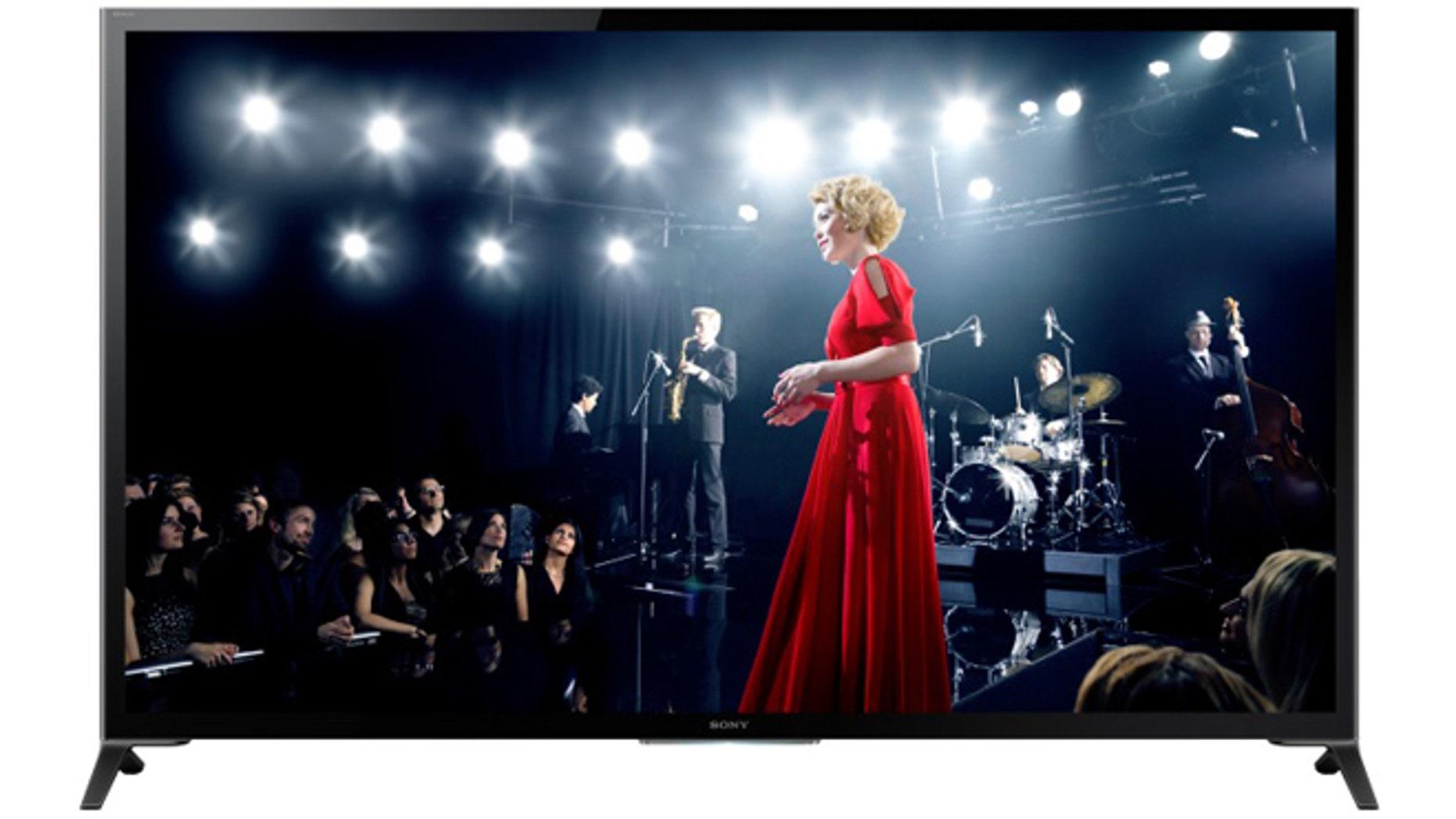 Sony's flagship 64-inch X950B 4K Ultra HD TV.