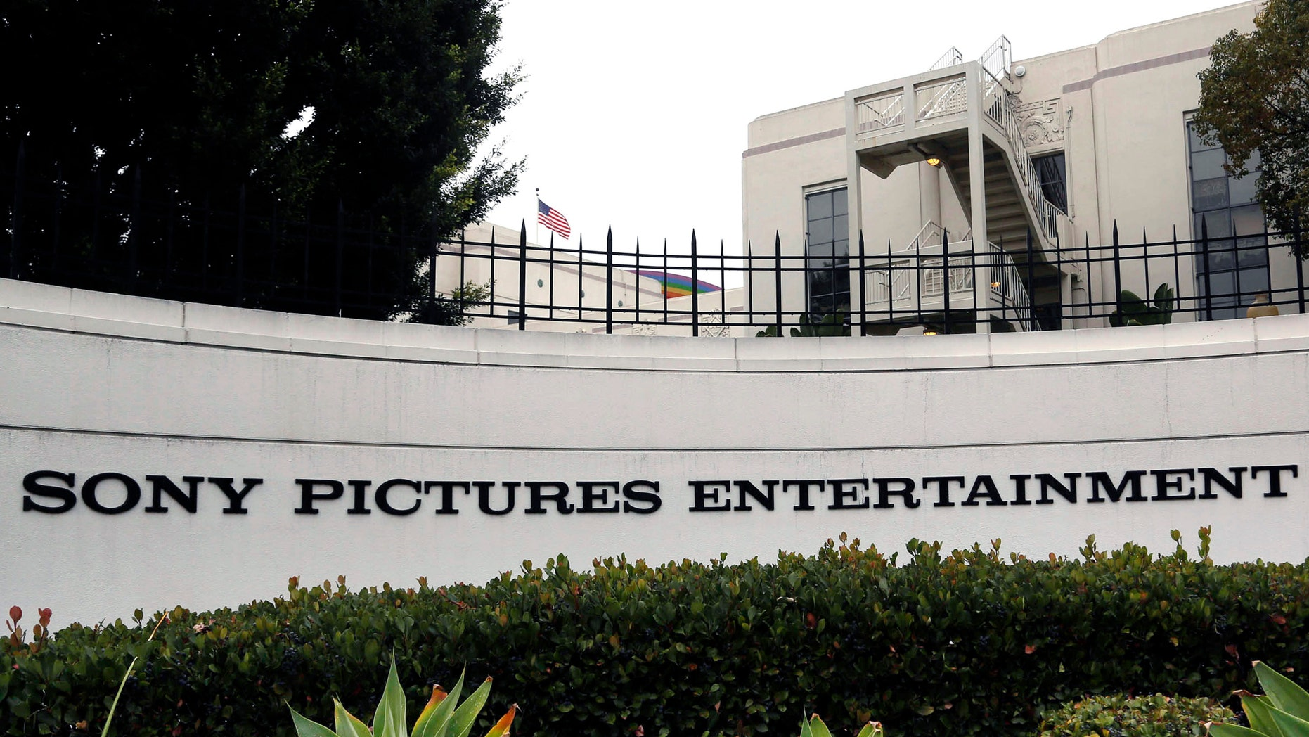 Sony Pictures Entertainment headquarters in Culver City, Calif.