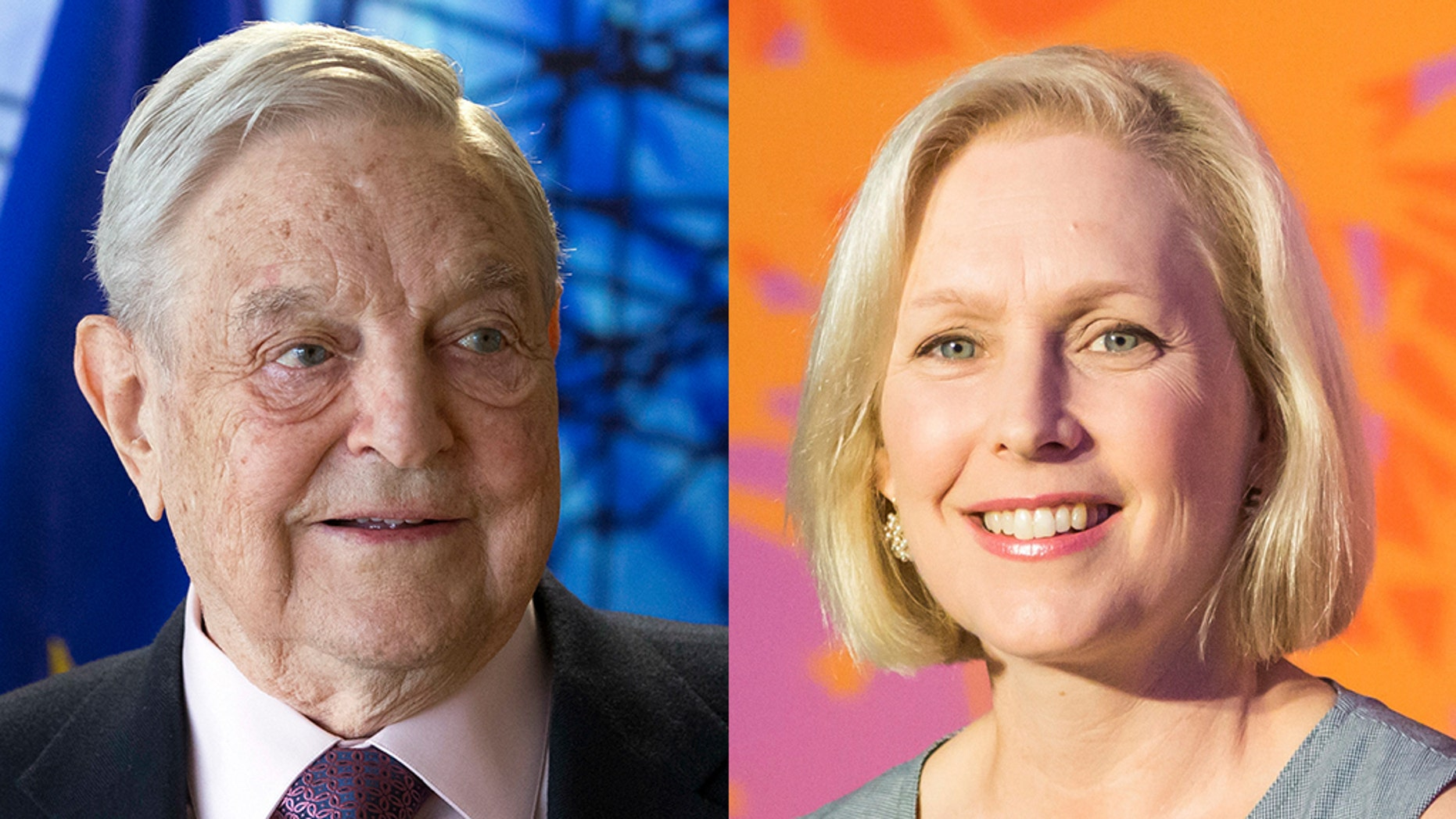 Sen. Kirsten Gillibrand, D-N.Y., responded after George Soros criticized her for leading the barrage of condemnation that forced fellow Democratic Sen. Al Franken to resign last year over groping allegations.