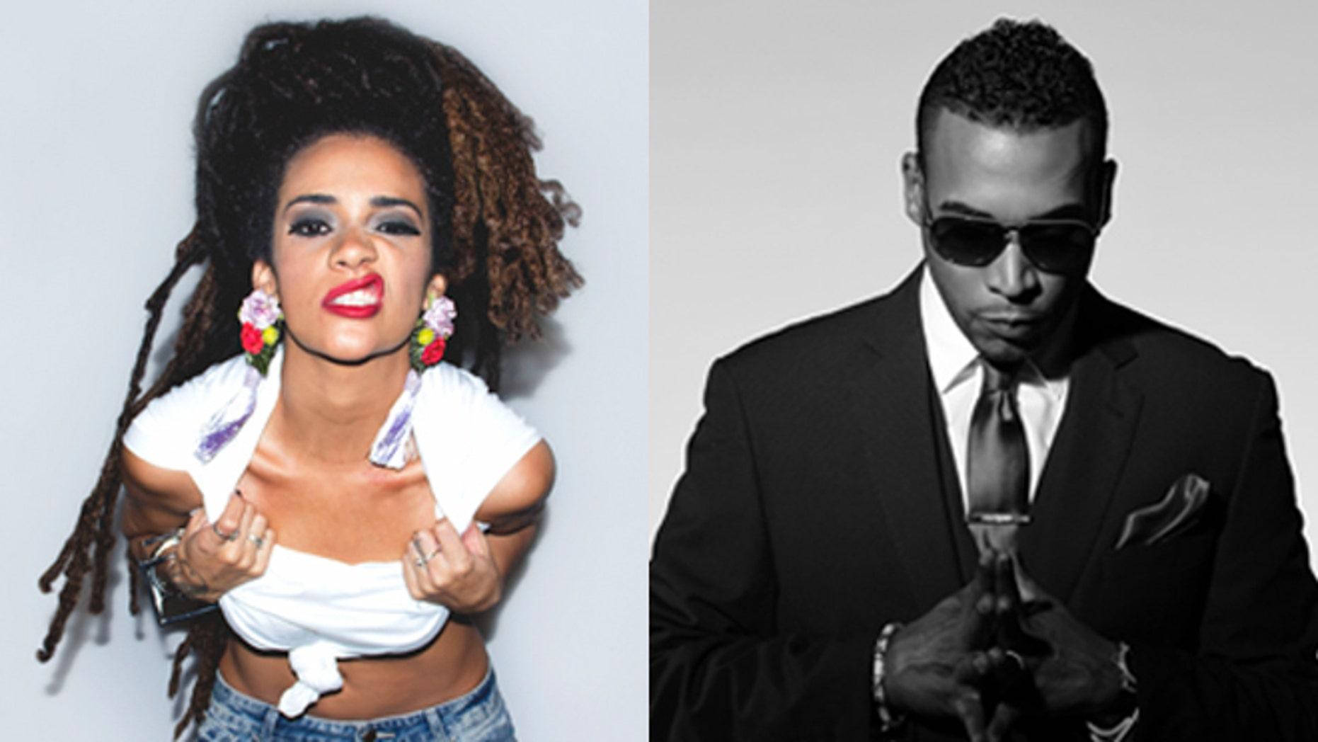 This year's Soulfrito lineup includes Puerto Rican singer-songwriter Calma Carmona, left, and El Rey de reggaeton, Don Omar. (Photos: Courtesy Soulfrito music festival)