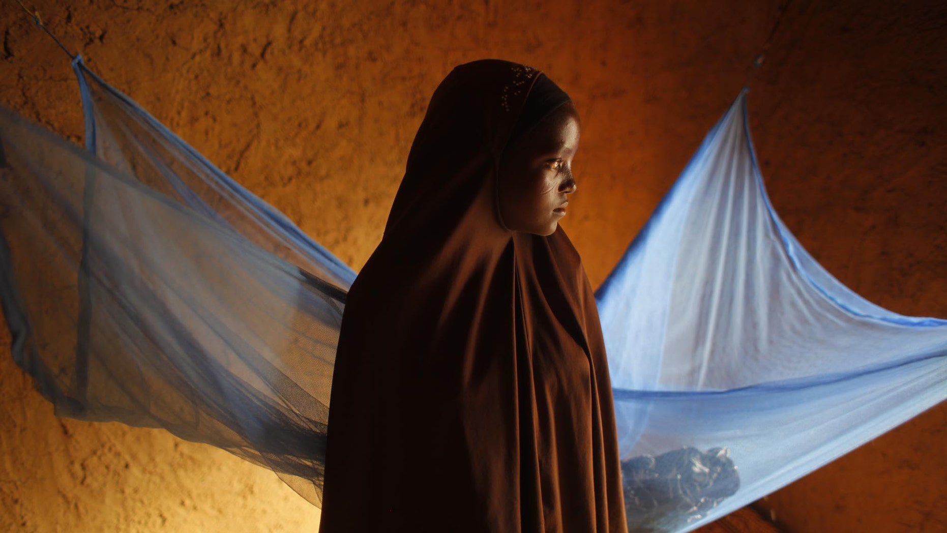 July 18, 2012 - FILE photo of Zali Idy, 12, posing in her bedroom in the remote village of Hawkantaki, Niger. Zali was married in 2011.