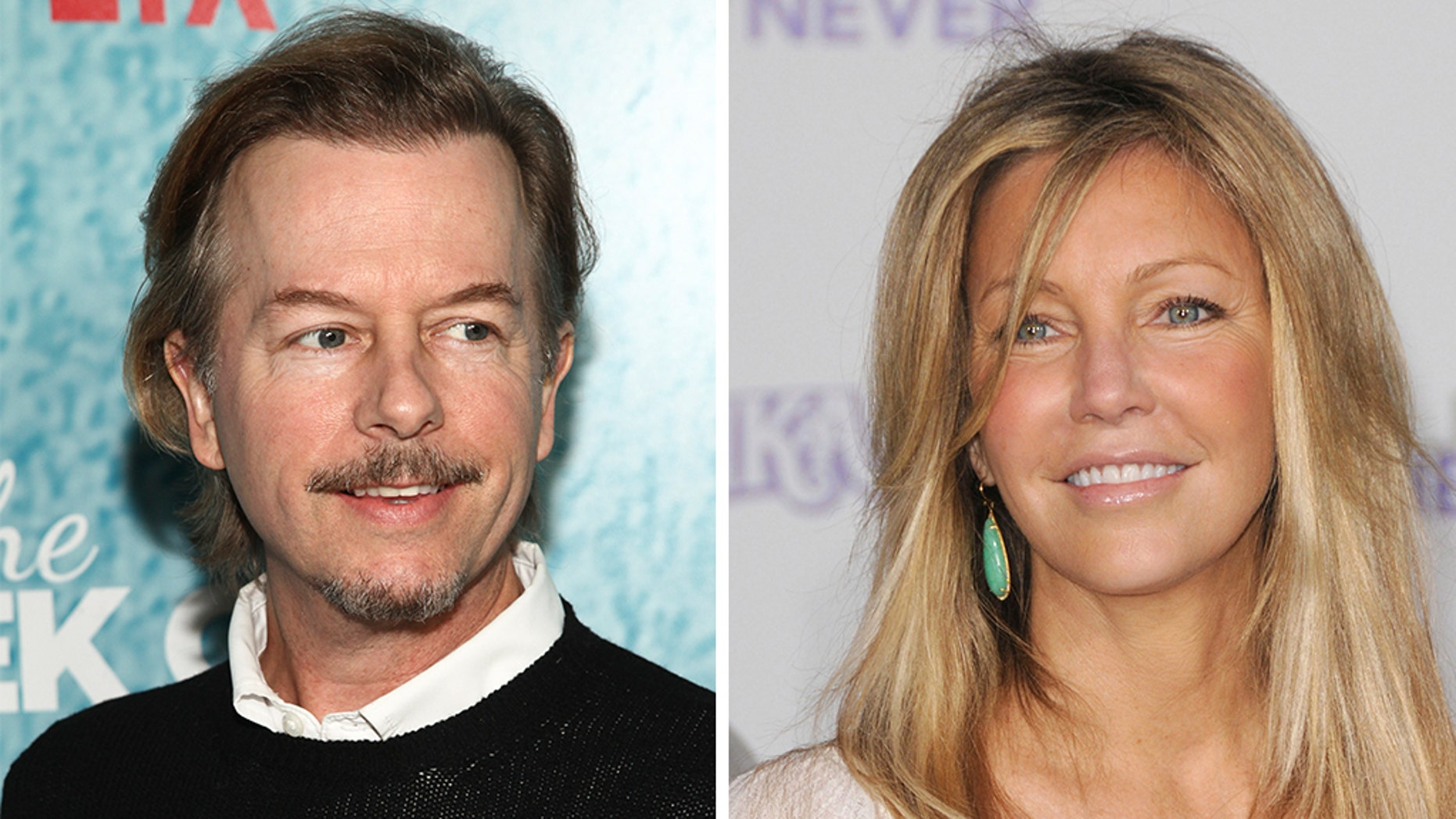"""David Spade reveals he stills talks to ex-girlfriend Heather Locklear, says she's in """"a tough situation."""""""