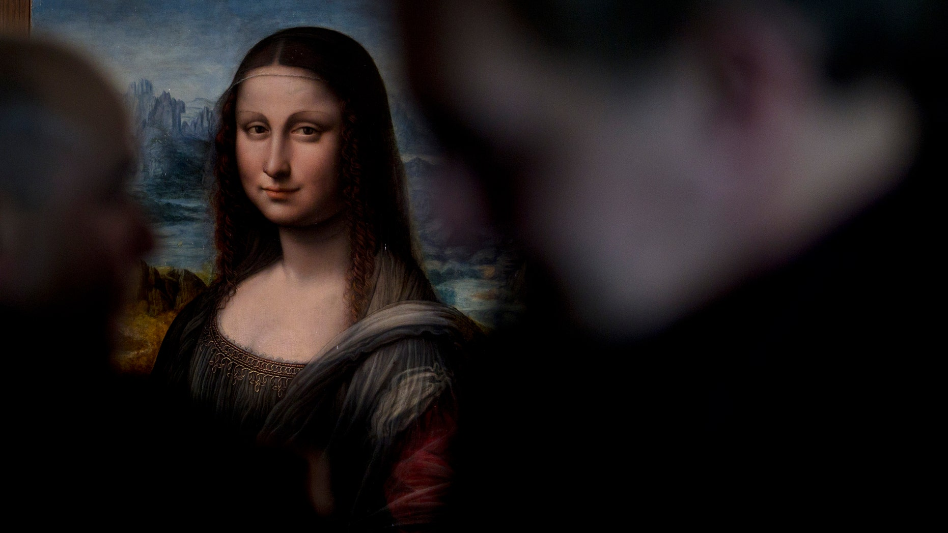 File photo: A copy of Leonardo da Vinci's Mona Lisa that was painted at the same time as the original in the same studio is displayed at the Prado Museum in Madrid Wednesday Feb. 1, 2012. (AP Photo/Paul White)