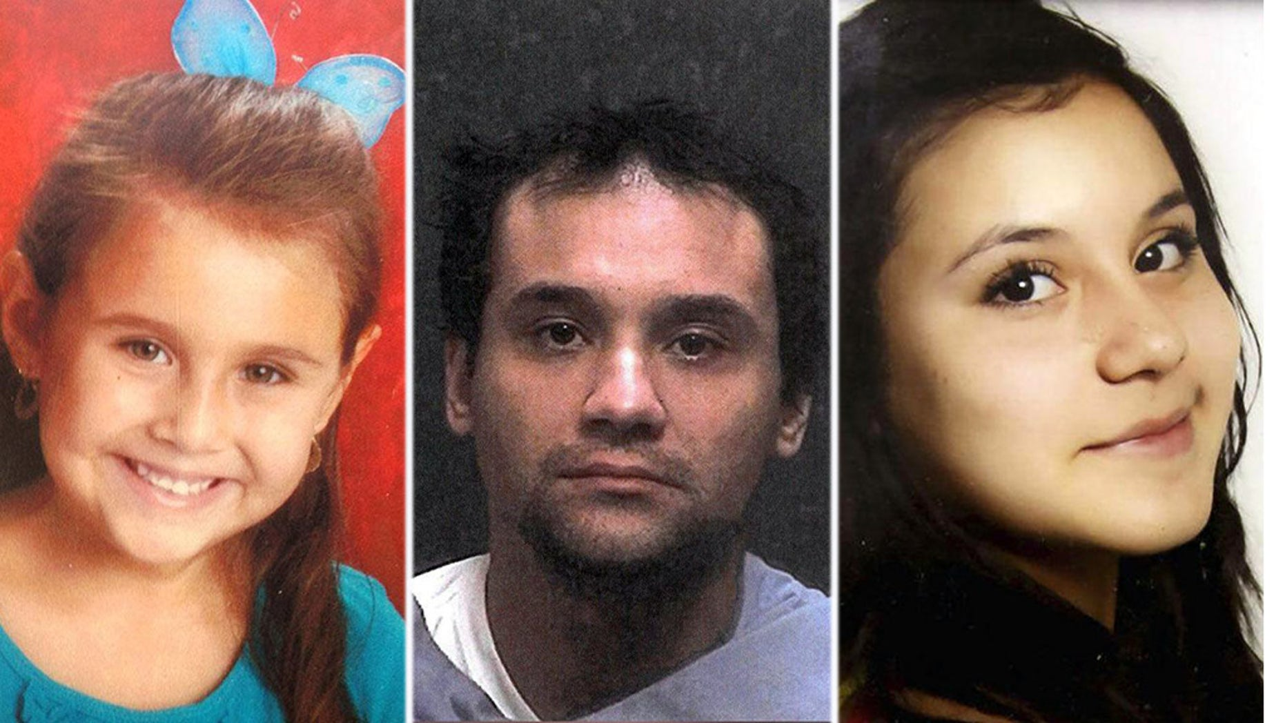 Christopher Matthew Clements [center] was indicted in the kidnapping and killing of Isabel Celis [left] and Maribel Gonzales [right] who went missing.