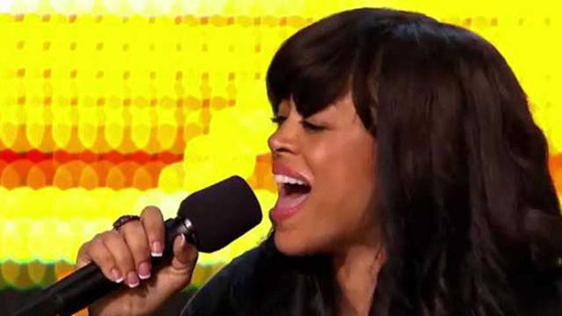 "Oct. 6, 2011: Stacy Francis performs ""Summertime"" on the X Factor Thursday night."