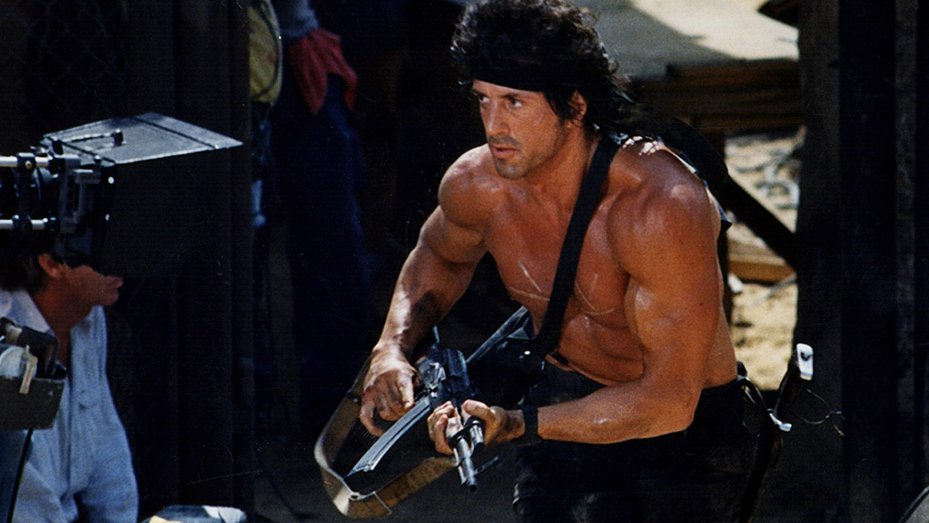 Sylvester Stallone says new 'Rambo' movie production is