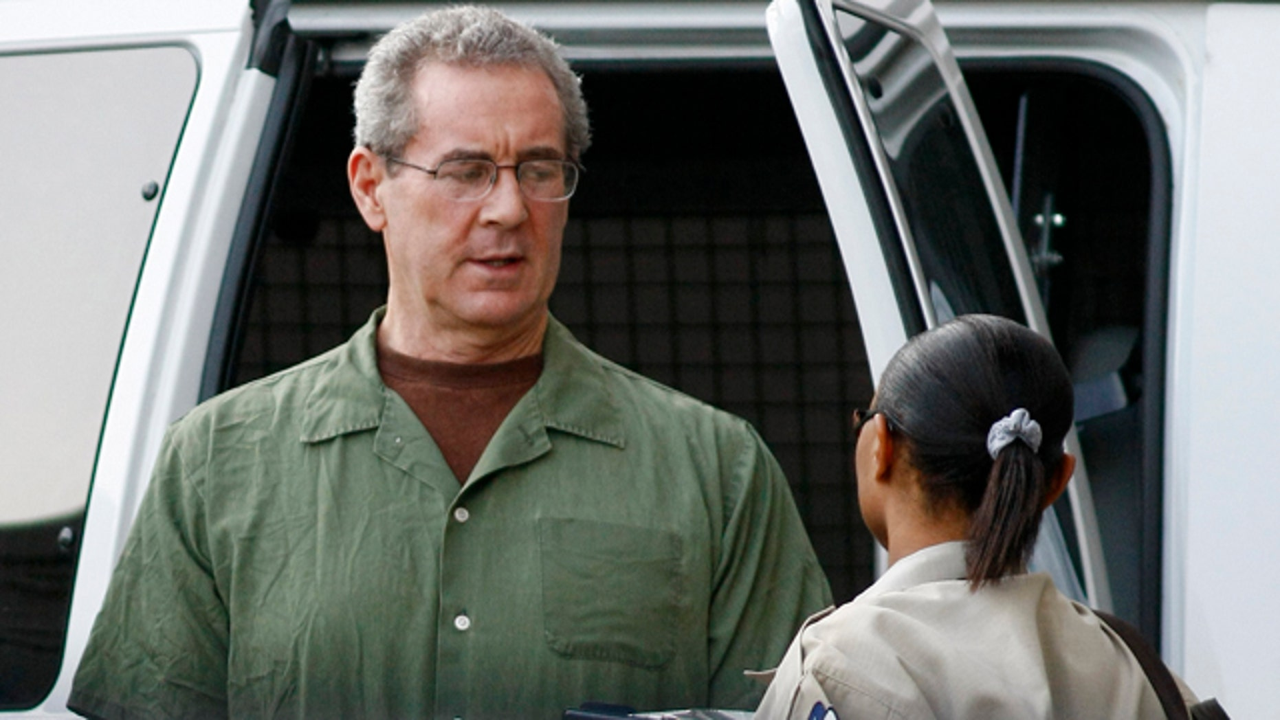 Aug. 24: R. Allen Stanford arrives at federal court for a hearing in Houston.