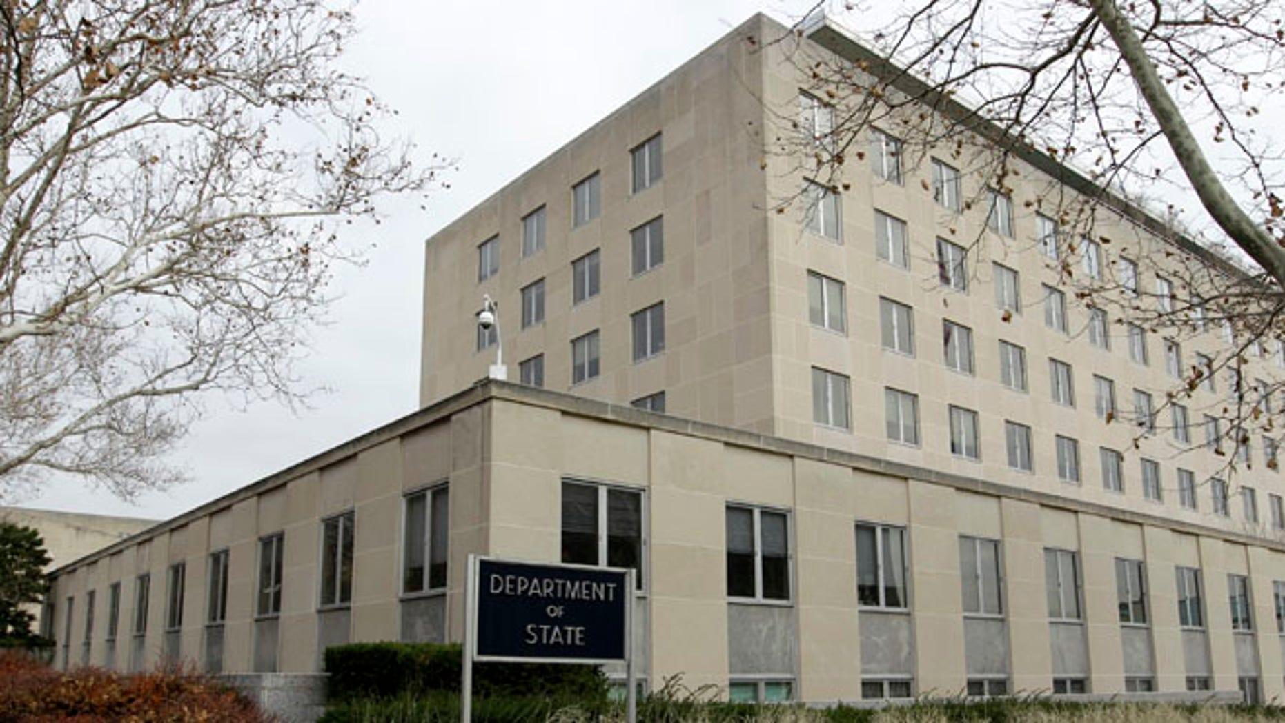 Dec. 15, 2014: State Department in Washington, D.C.