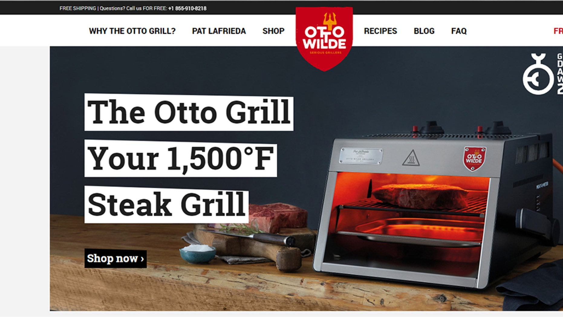 Pat LaFrieda has teamed up with a German company called Otto Wild Grillers for his Pat LaFrieda Signature Series model.