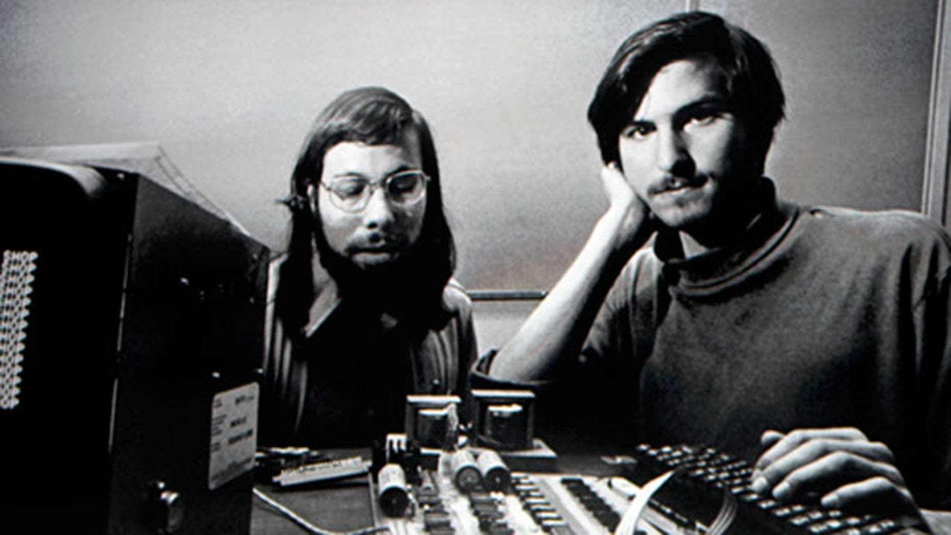 Apple co-founders Steve Jobs and Steve Wozniak.