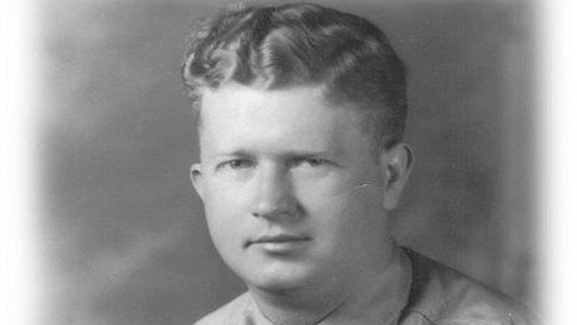 This undated photograph shows World War II, United States Army Master Sgt. Roddie Edmonds.