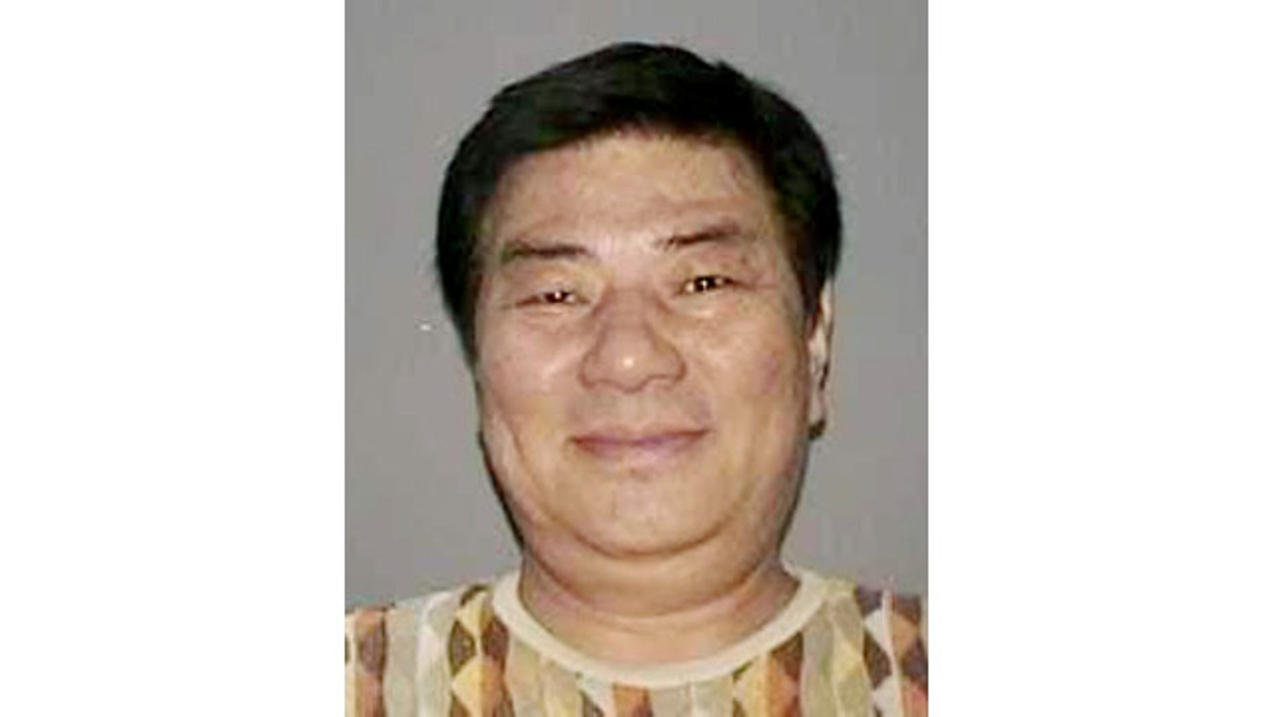 In this undated photo provided by the Nassau County Police Department in Mineola, N.Y. on Wednesday, Sept. 25, 2013, a New York State Driver's License photo of Sang Ho Kim is shown. (AP Photo)