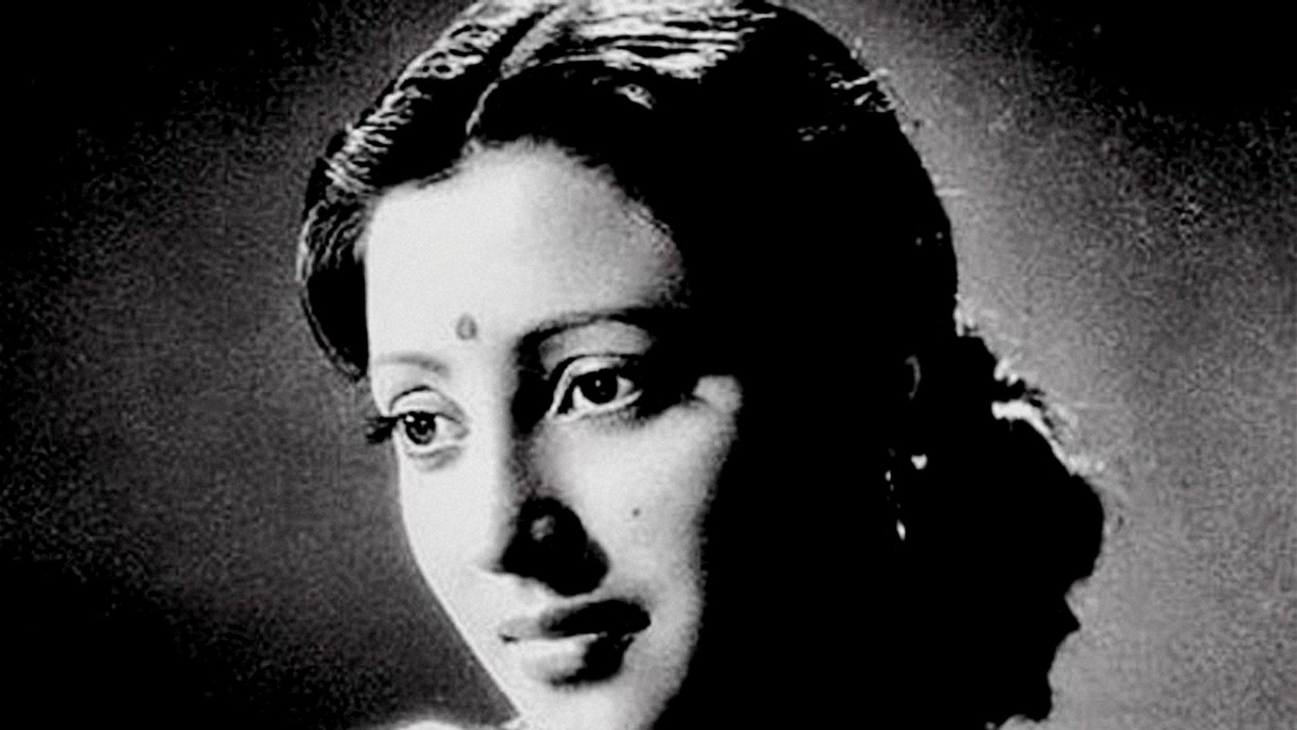 This undated photo, shows Indian Bollywood actress Suchitra Sen in Kolkata, India.