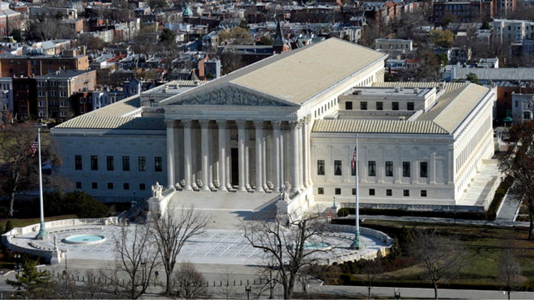 Dec. 19, 2013 file photo of the Supreme Court in Washington.
