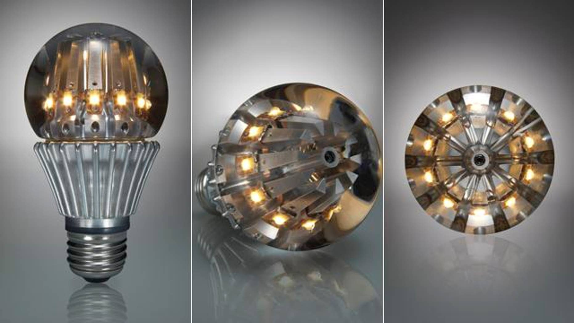 Boasting cooling fins like those found inside some computers, the LED-powered Switch bulb may be the lightbulb of the future.