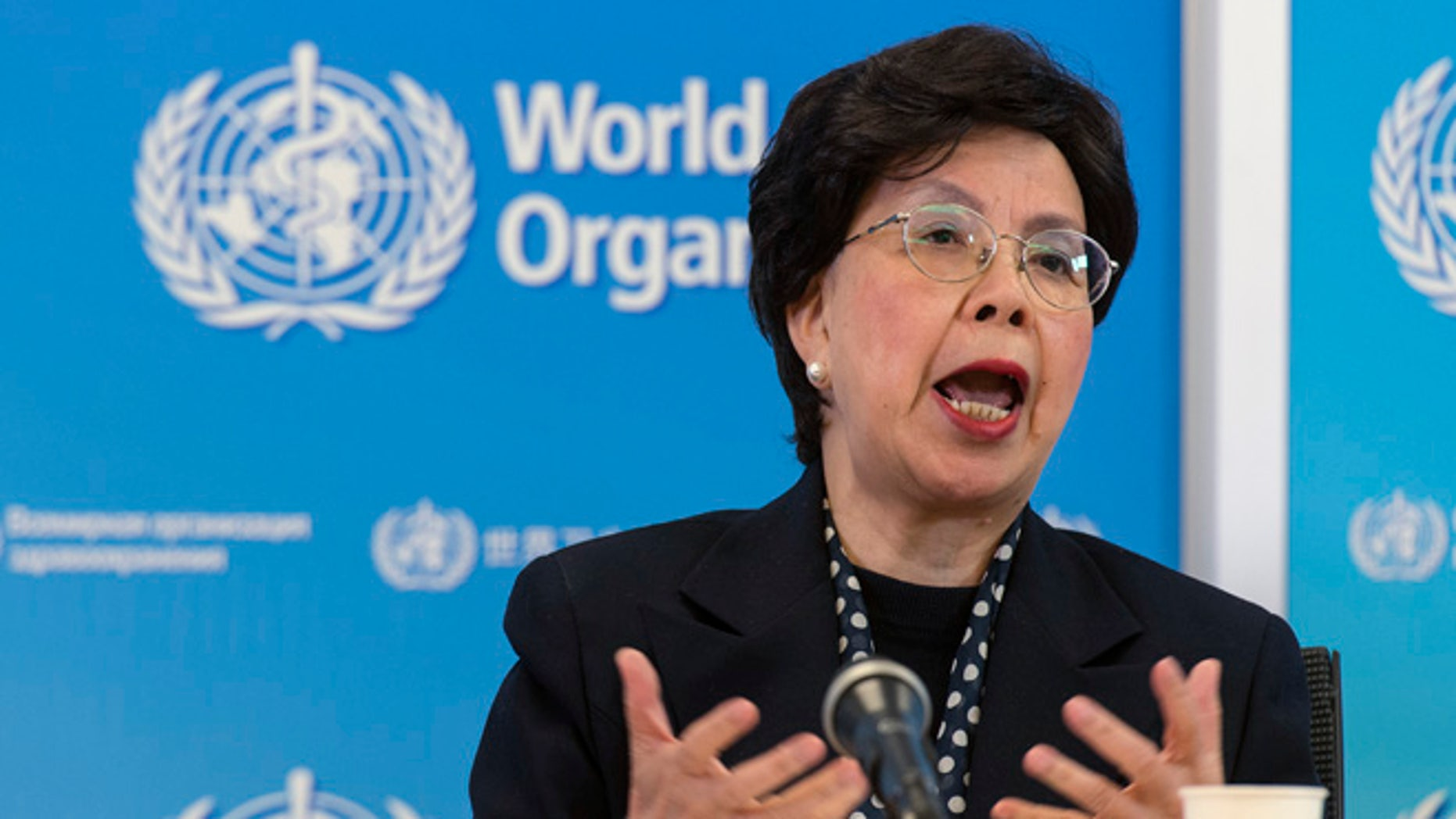 Margaret Chan, General Director of the World Health Organization, on Tuesday, March 8, 2016.