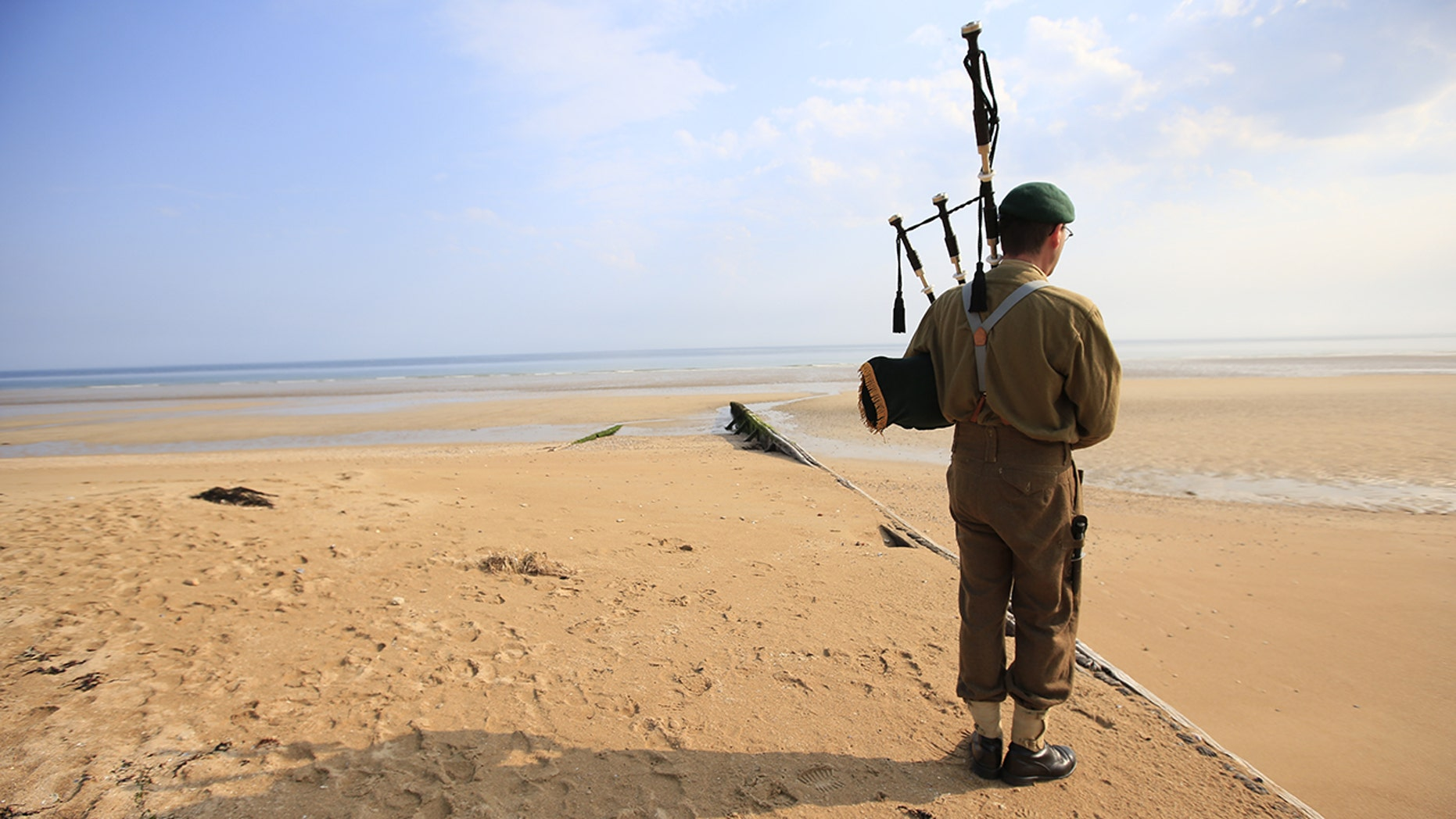 A planned concert on Sword beach on Normandy, France for the 75th anniversary of D-Day has drawn outrage from some veterans.