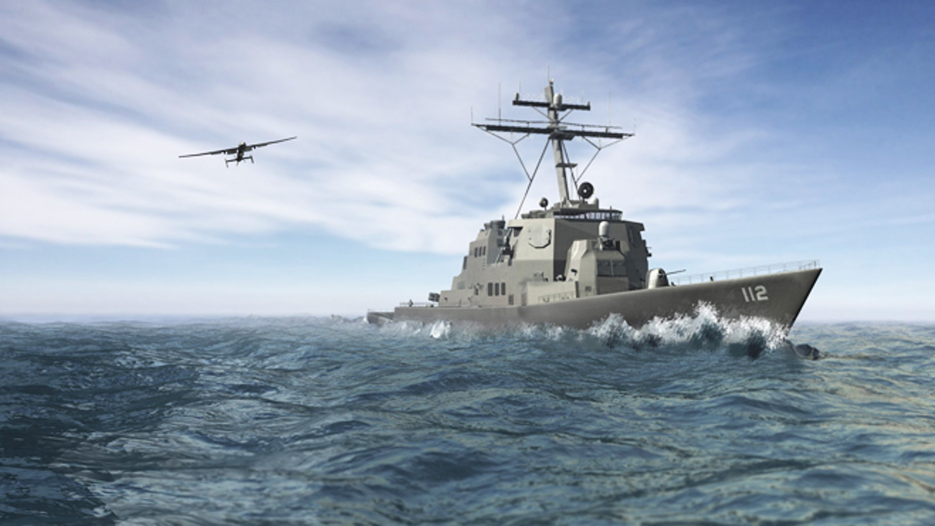 The military seeks a way to launch drones from smaller ships, greatly increasing their range for surveillance and intelligence.