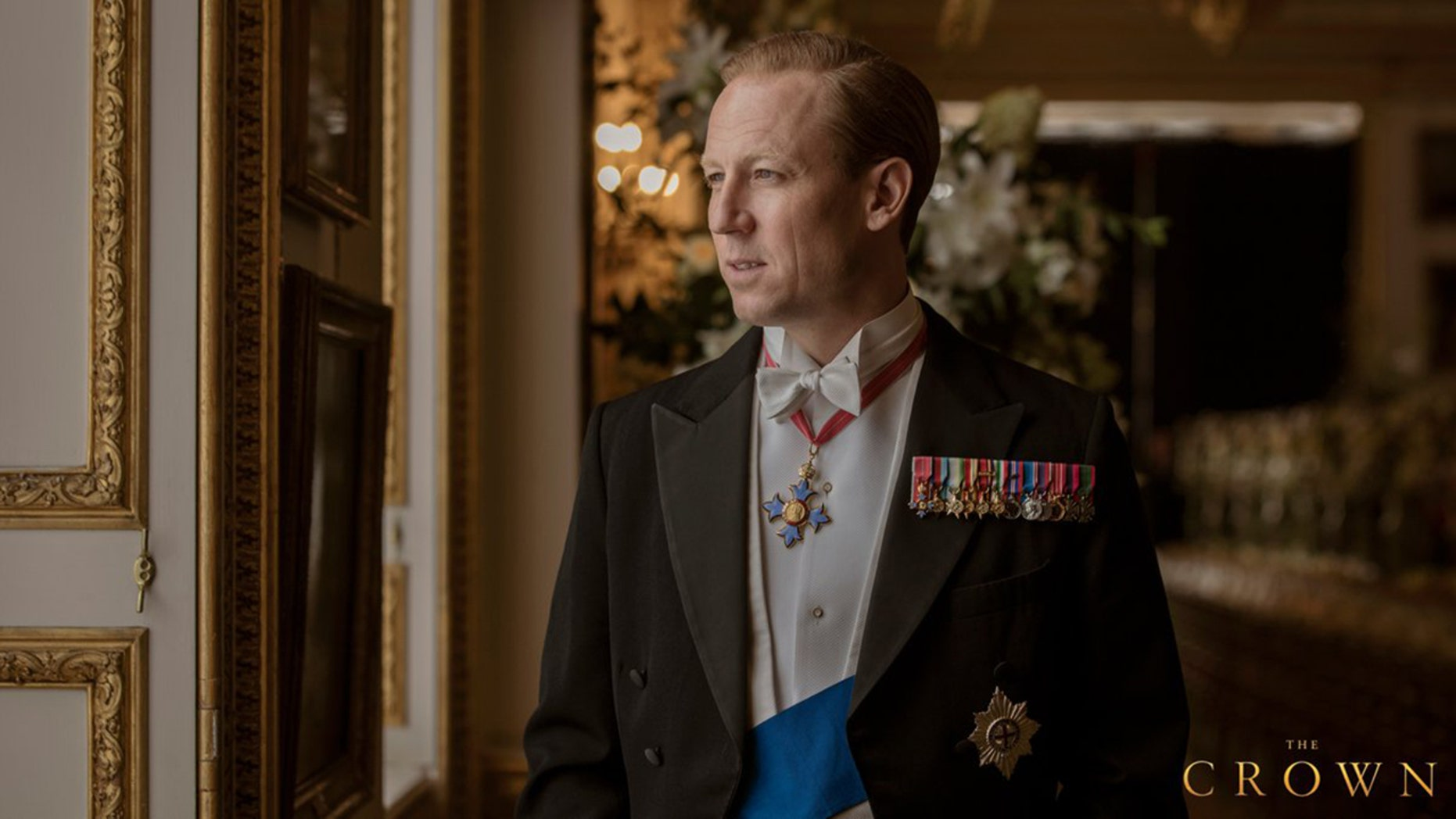"""Tobias Menzies as Prince Philip in the Netflix series """"The Crown."""""""