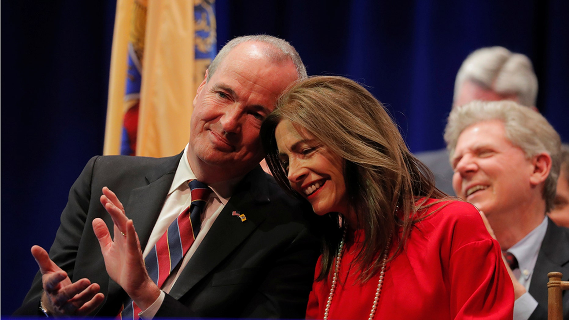 Gov. Phil Murphy, D-N.J., reportedly spent nearly $13,000 to create an office for his wife, Tammy, who doesn't hold any political office.