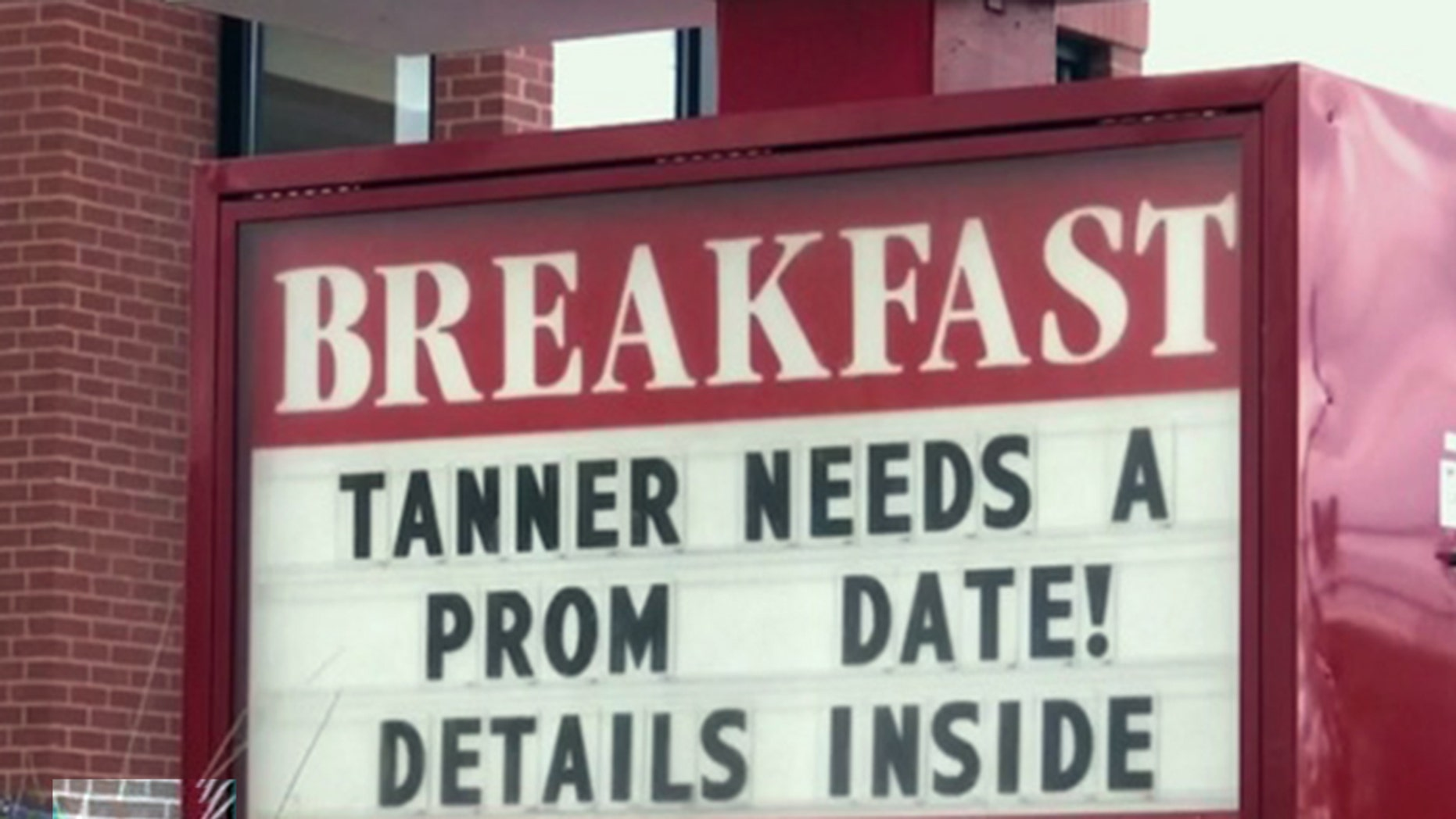 A Florida Chick-fil-A is helping a teen employee find a date for his senior prom.