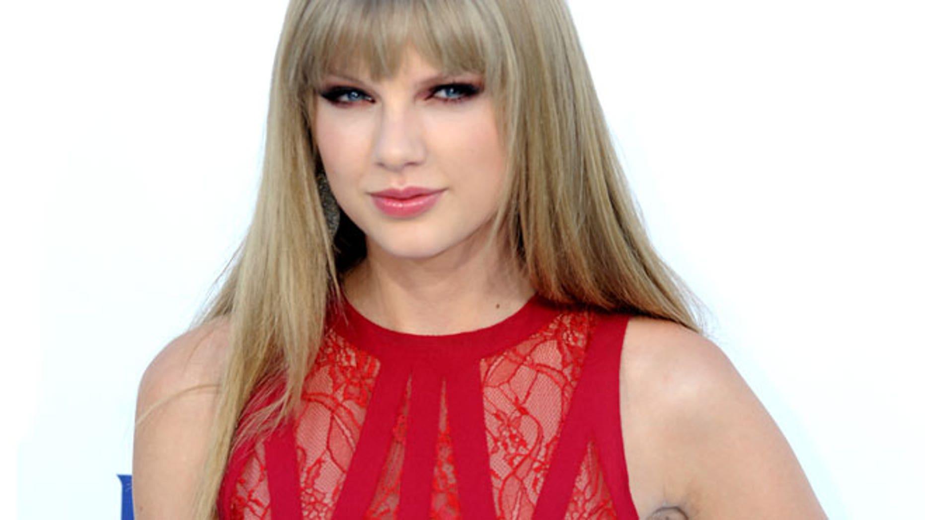 May 20: Taylor Swift at the Billboard Music Awards.